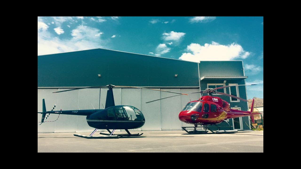 Robinson R44 & Eurocopter AS355