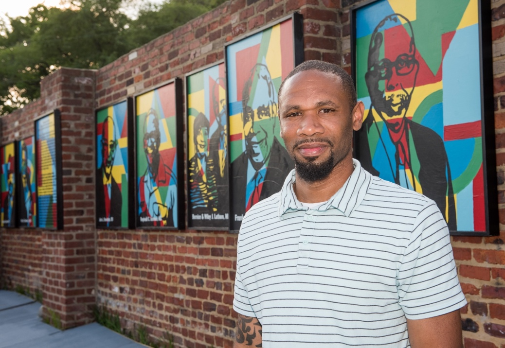 Legacy Wall Of Art At Richmond Community Hospital Honors African American Physicians