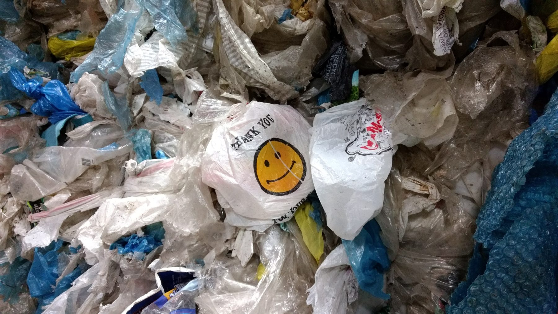 Please Keep Plastic Bags Out Of The Recycling Bin