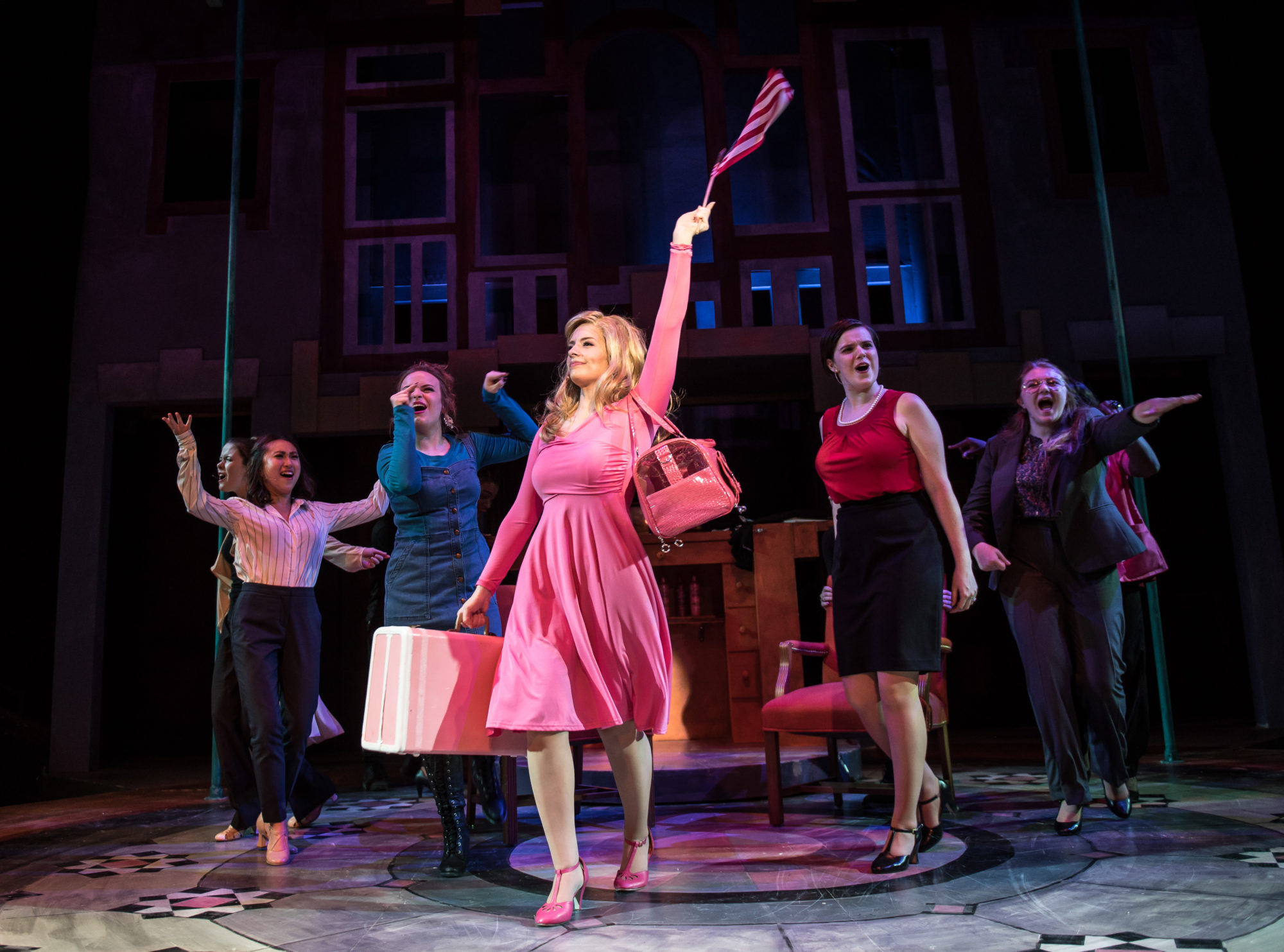 "TheatreVCU Offers A Lively ""Legally Blonde – The Musical"" For New And Old Fans Alike"