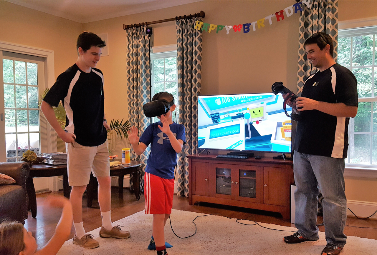 """River City VR Is A Great Birthday Party Option For """"That"""" Tricky Age Group"""