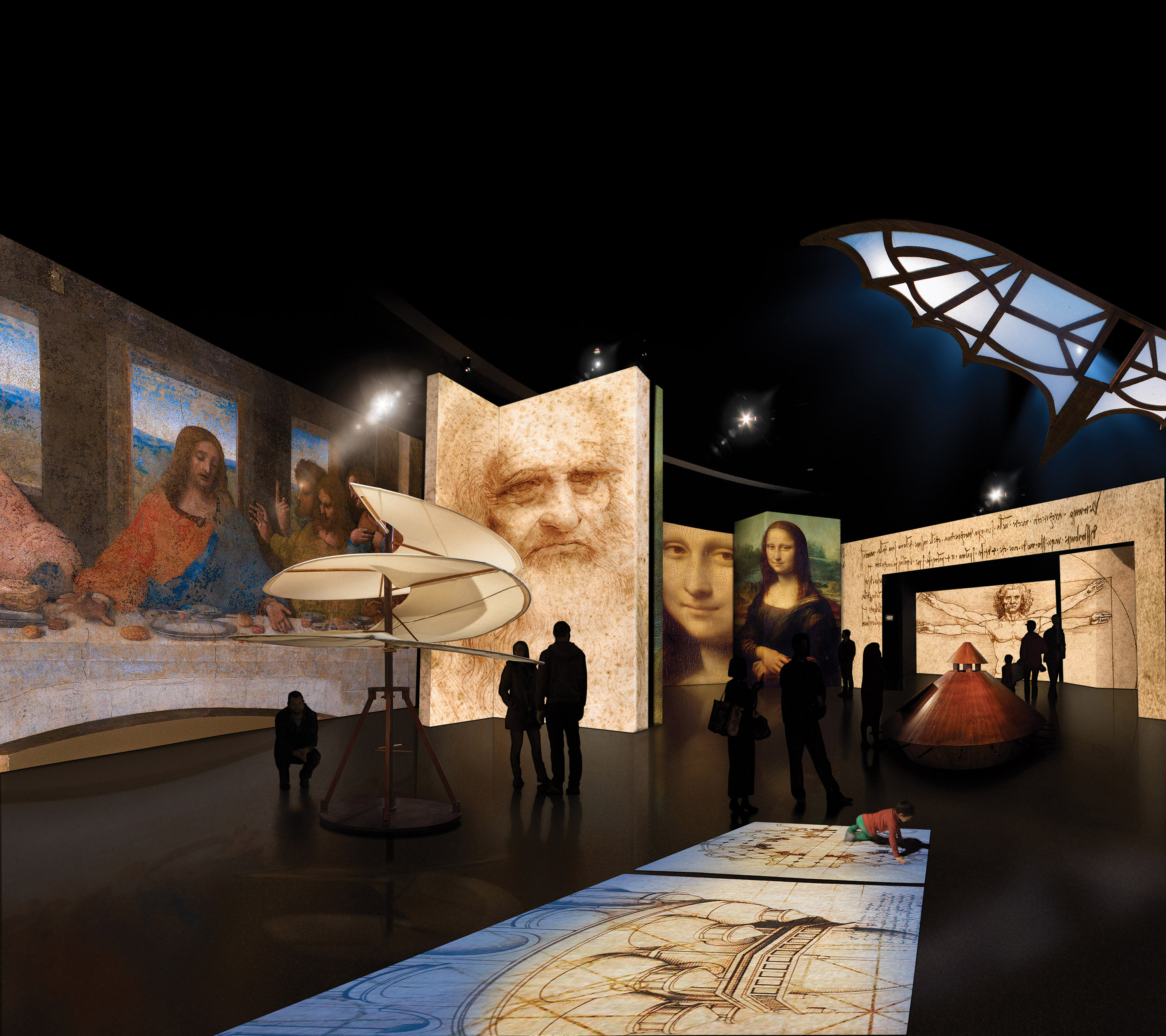Da Vinci Alive – The Experience Extended Through September 7
