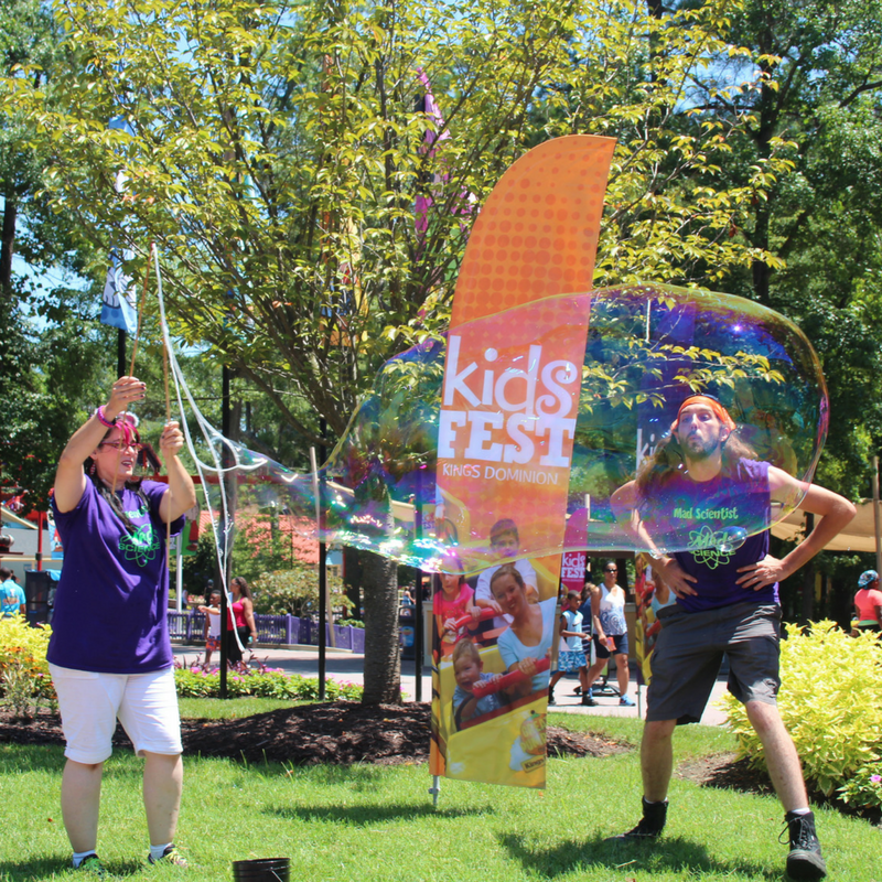 Kings Dominion Has Even More Fun For Little Ones During KidsFest This June