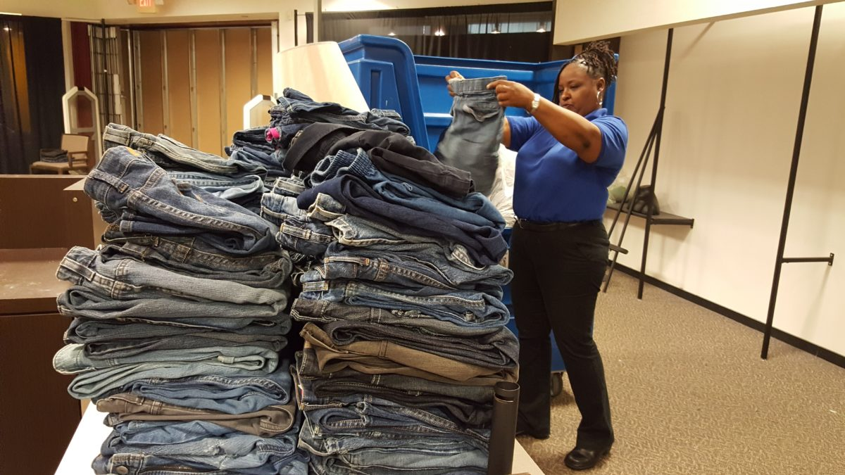Turn Jeans Into Jobs While Supporting Local Schools