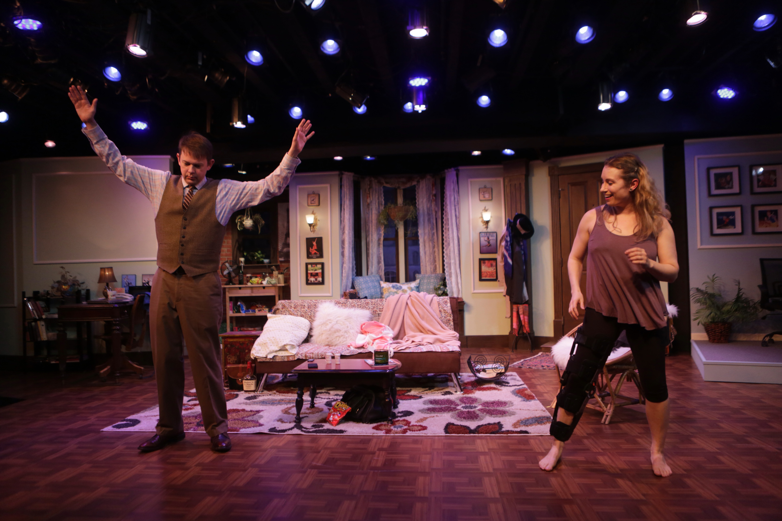 "Light Comedy ""Dancing Lessons"" Extended Through April 9"