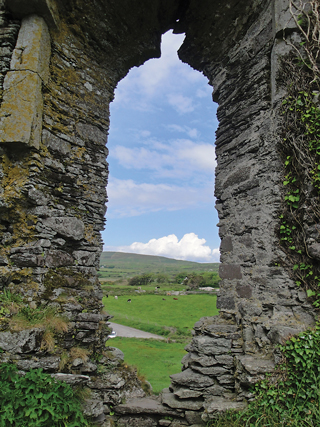 Exploring castles in Ireland – some of them in ruins – was a highlight.