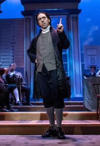 Scott Wichmann is John Adams. (Photo by Aaron Sutten)