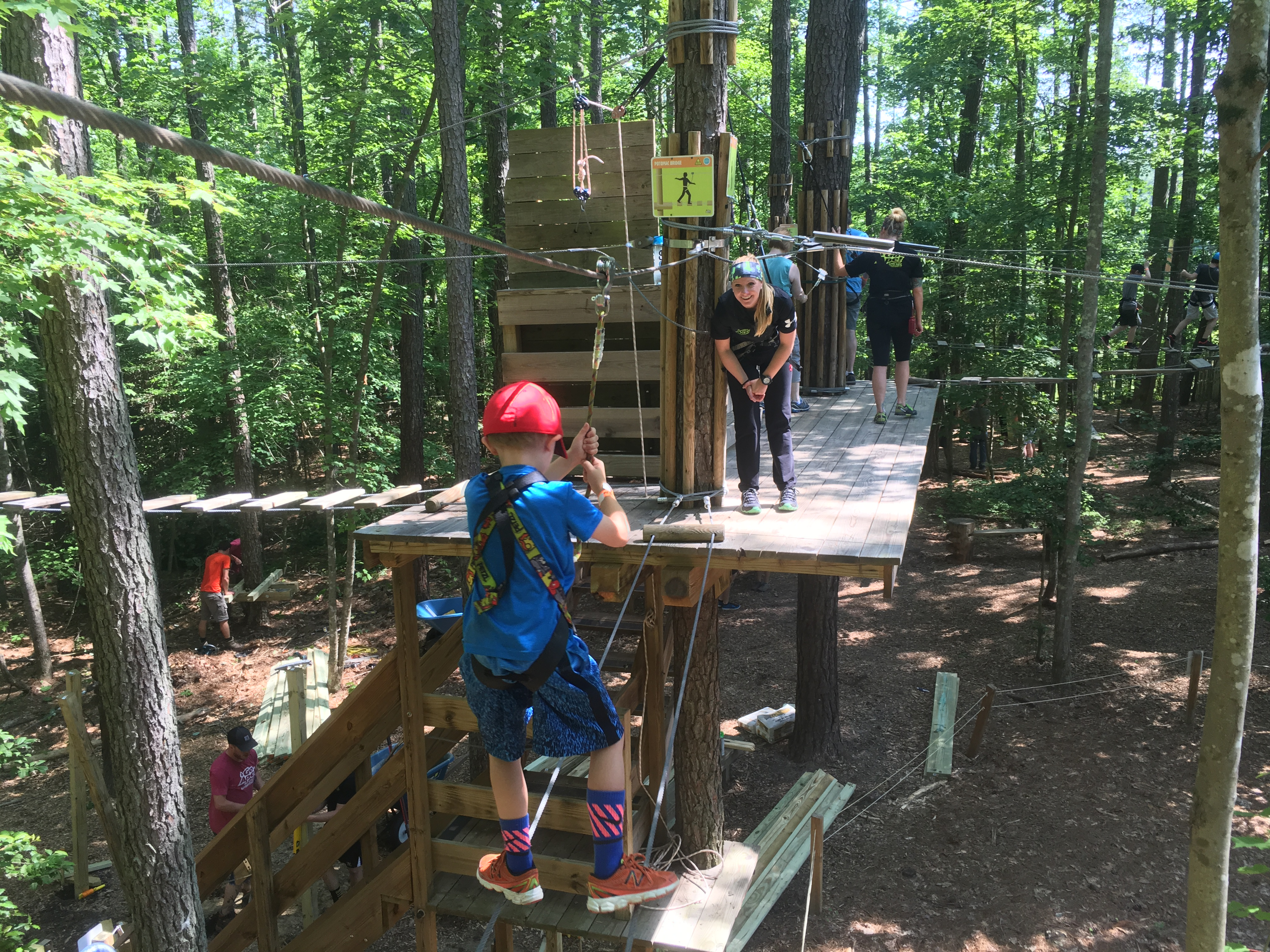 Go Ape! Williamsburg Is A Big Hit With Parents And Kids