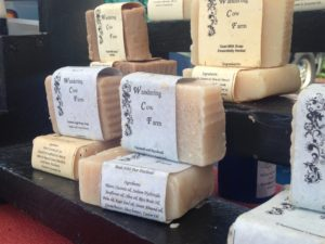 Homemade soaps, lotions, shampoos, jewelry, and more will be available at the Regency Farmer's Market on Mondays this summer.