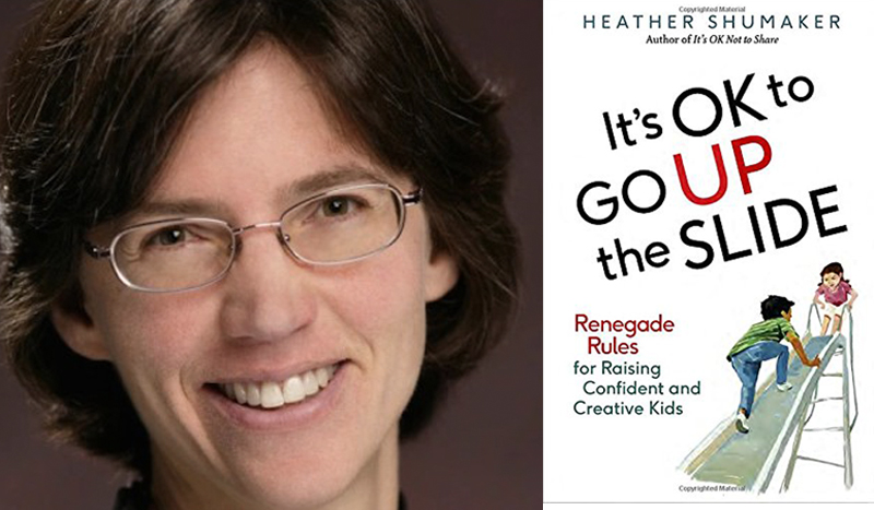 "Renegade Parenting Rules: A Review Of ""It's OK To Go Up The Slide"""