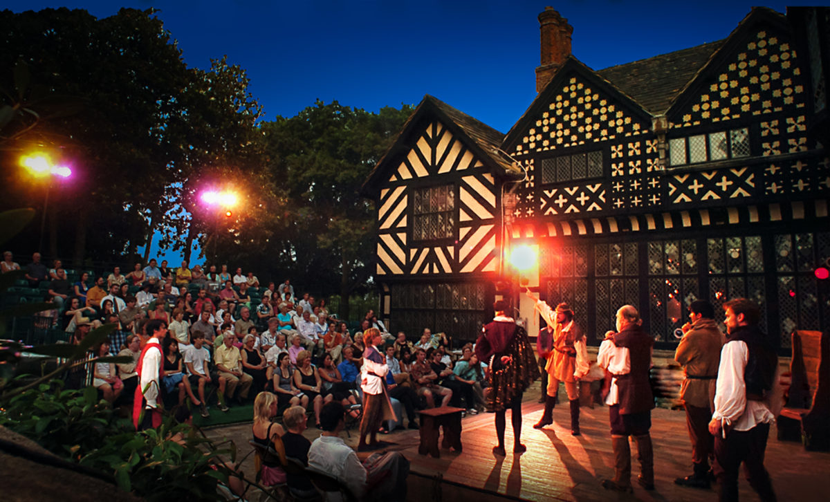 "Quill's ""Romeo And Juliet"" Lights Up Outdoor Stage At Agecroft Hall"