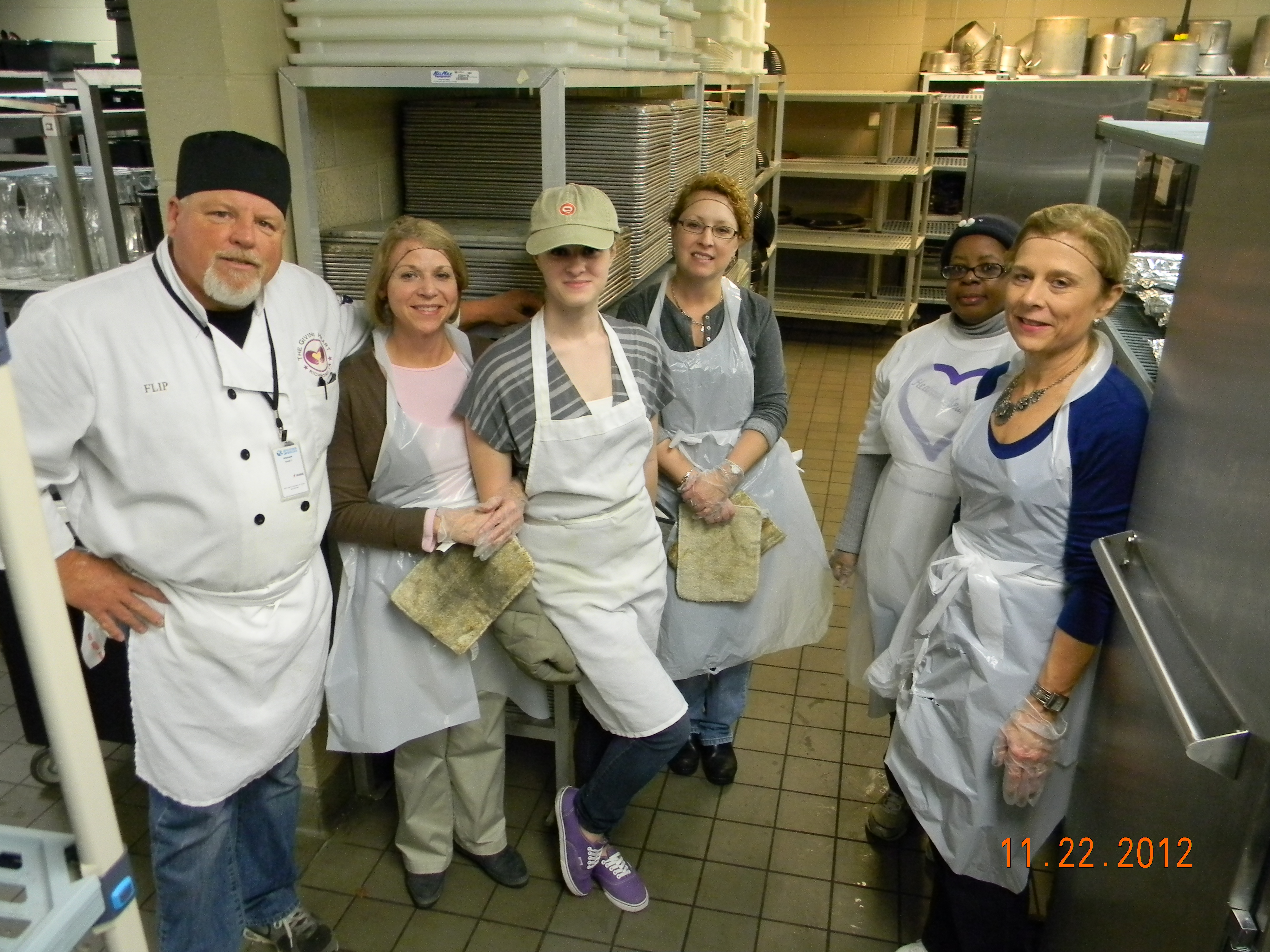 The Giving Heart Needs Your Help! Volunteer Chefs Wanted