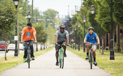 When the UCI Road World Championship rolled out of town last fall, Richmond-area bike lovers united to enjoy numerous new bike lanes throughout the area, as well as the Virginia Capital Trail and High Bridge Trail State Park.