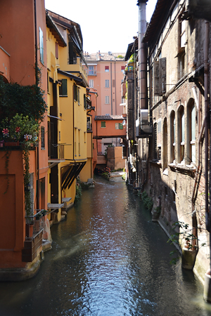 The view through the Finestra was captivating. The hidden waterway is a remnant from a time when the system of canals was more prevalent, like in Venice.