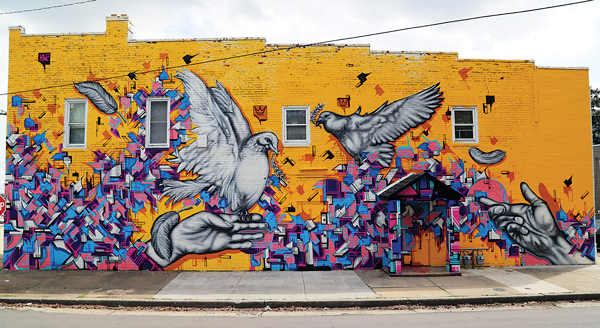 """Dove"" at Boaz & Ruth on Meadowbridge Road, Northside"