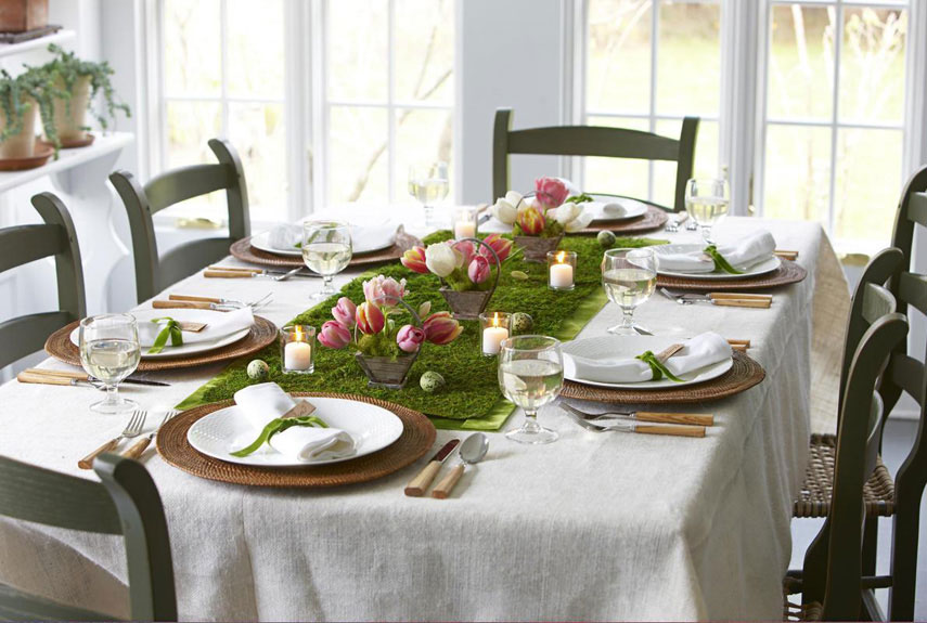 Spring's Holiday Table