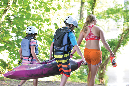"""It is an honor and a privilege to lead these kids to new adventures and we take it very seriously,"" says Kevin Tobin, 