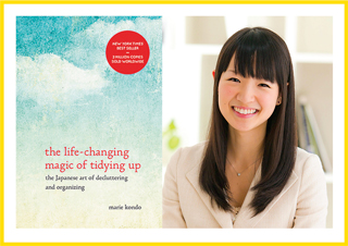 Marie Kondo is the force behind the KonMari method of tidying.
