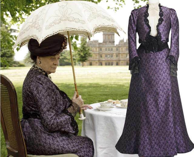 Dressing Downton Exhibit Brings Fans Closer To Artistry And History
