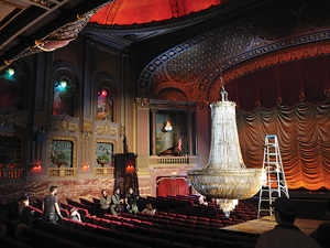 The Byrd hosted a research group's team of investigators who attempted to record and validate paranormal activity at the historic theatre.