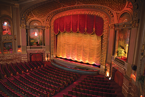 The first sound theatre in Virginia, Byrd Theatre in Carytown opened on Christmas Eve, 1928.