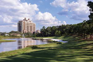 Rising seventeen stories, the new resort in Disney is taller than many Four Seasons properties and is lavishly landscaped.