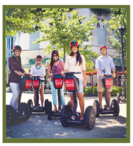 Start with a family tour of the city by Segway or electric car to scope out Atlanta.