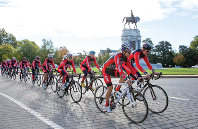 Elite-level Team USA cyclists took part in a training camp in Richmond to familiarize themselves with the courses they'll ride for the 2015 UCI Road World Championships.