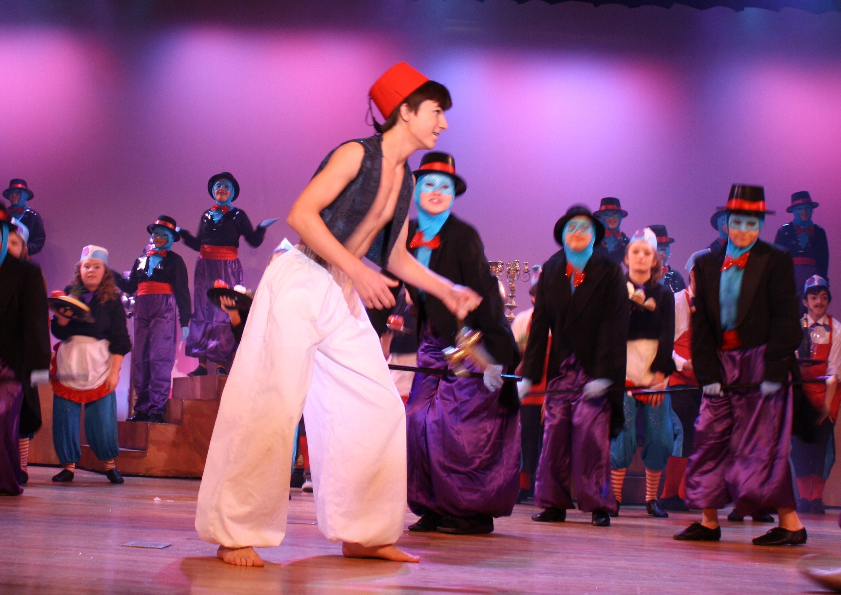 Aladdin: Amazing Talent, Plus Creative Costumes, Scenery