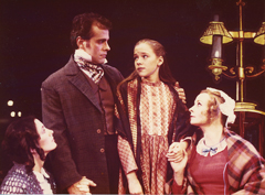 At age eight, Emily played Belinda Cratchit in A Christmas Carol, the holiday classic from TheatreVirginia.