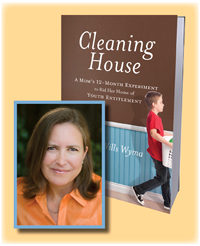 Kay Wills Wyma is the author of Cleaning House, a mother of five, and a frequent contributor to The New York Times Motherlode blog. You may have seen her on Today, Fox & Friends, or CNN.