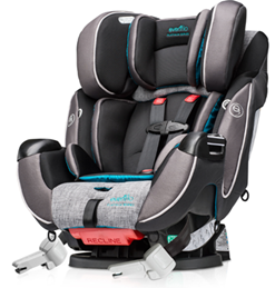 Moms Taking To The Road This Spring And Summer Travel Season Will Be Thrilled Learn That New Evenflo Platinum Protection Car Seats Bring Technology From