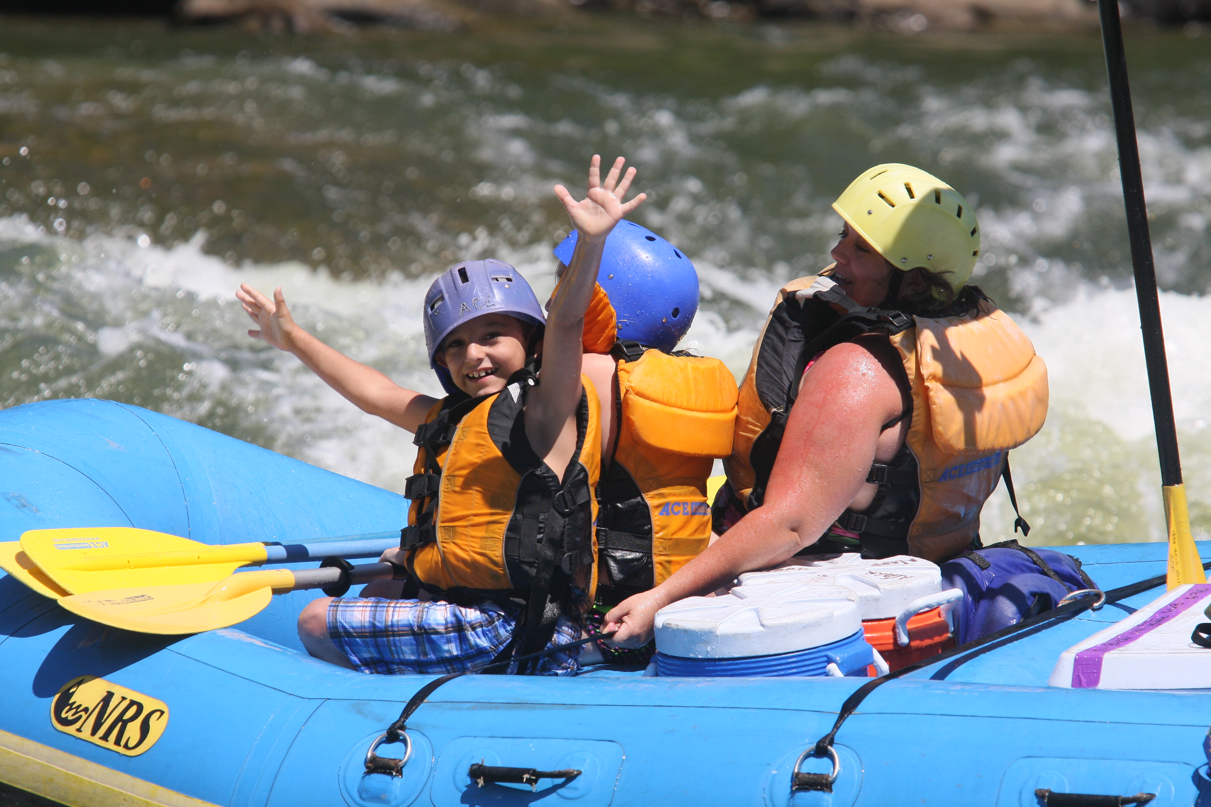 Whitewater Rafting Trips Designed For Families