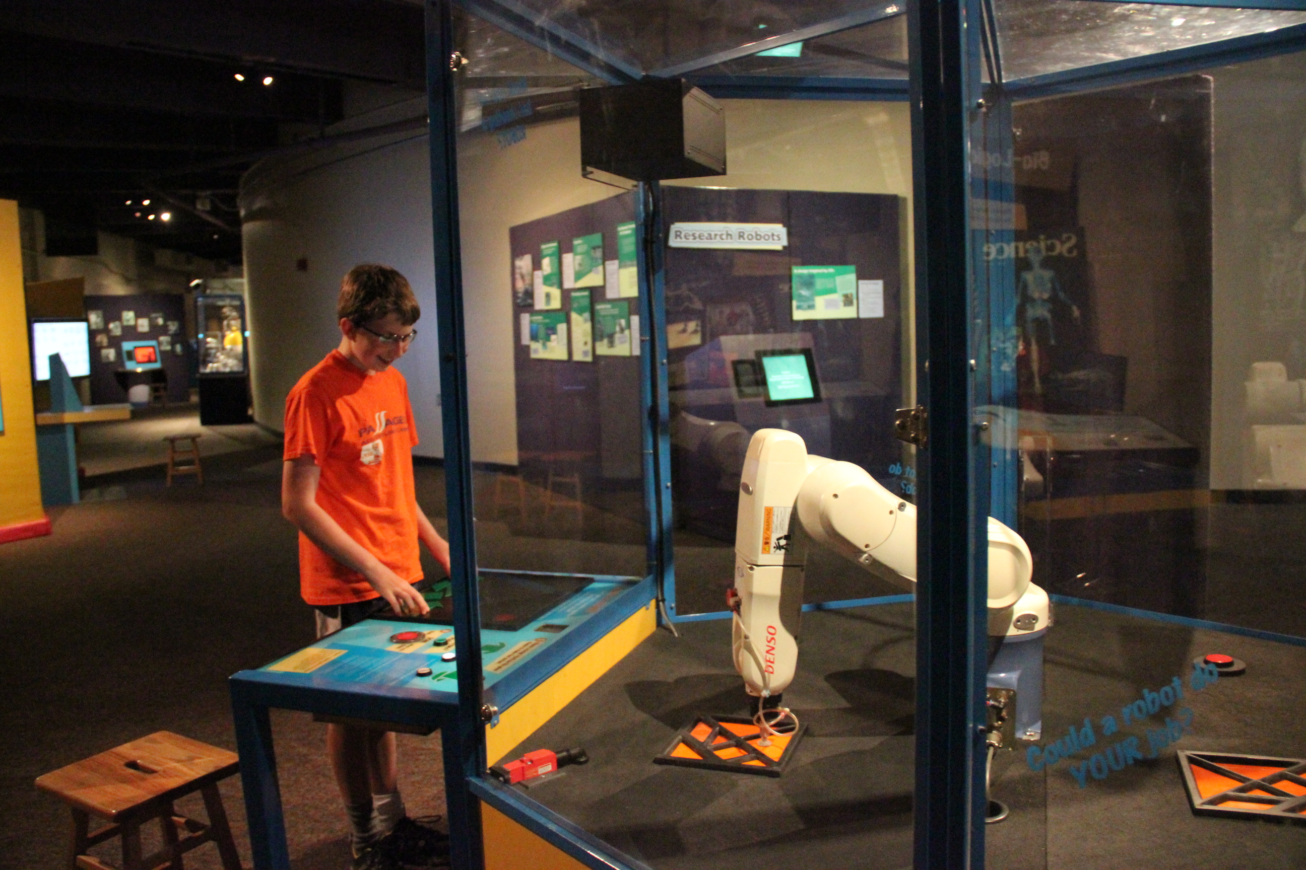 Robots + Us Is Informative, Interactive, And Fun!
