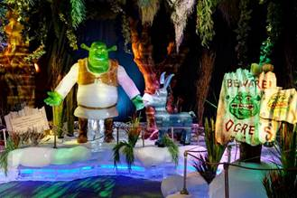 DreamWorks Shrek The Halls Is Gaylord's Holiday Ice Show