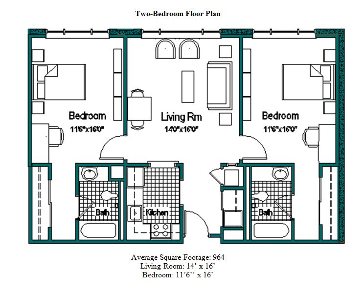 Floor Plans Rosalind Franklin University – Student Housing Floor Plans