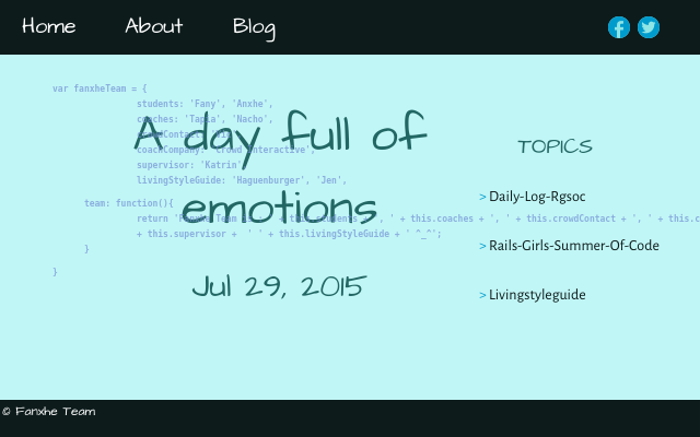 2015 07 29 a day full of emotions