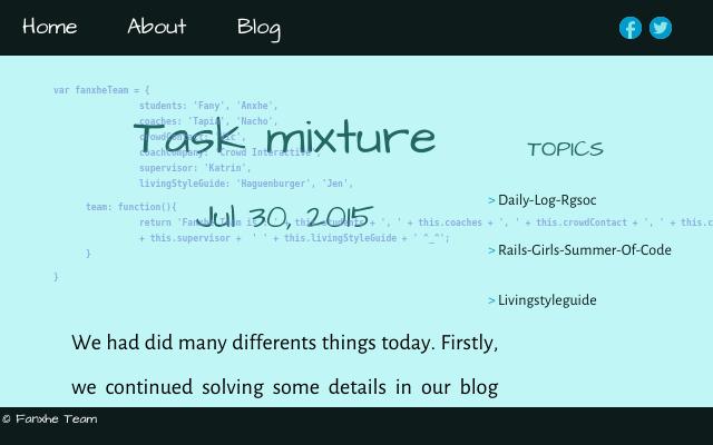 2015 07 30 task mixture
