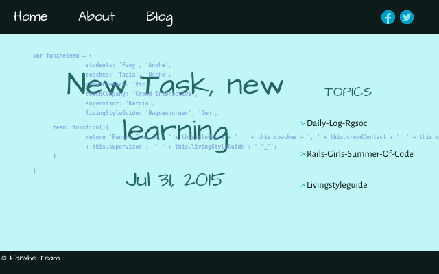2015 07 31 news task new learnings
