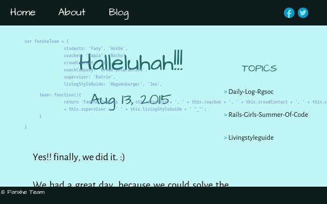 2015 08 13 hallelujah