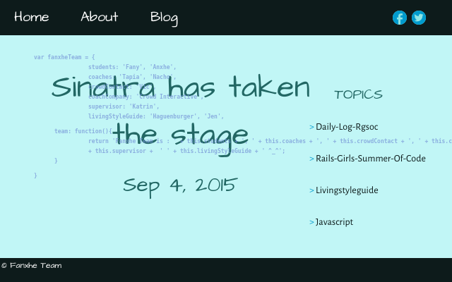 2015 09 04 sinatra has taken the stage
