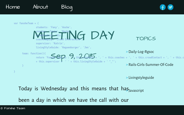 2015 09 09 meeting day