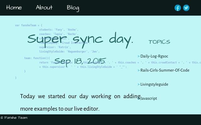 2015 09 18 super sync day