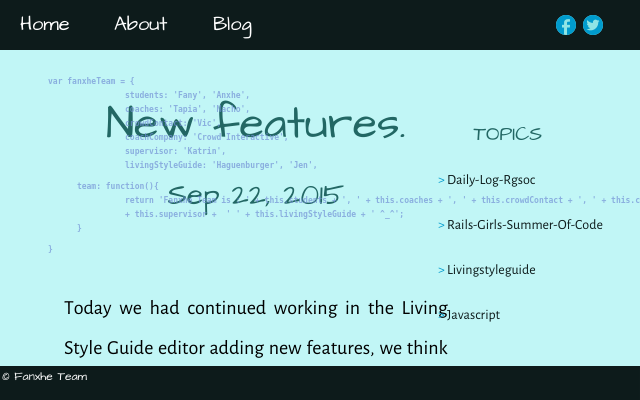 2015 09 22 new features