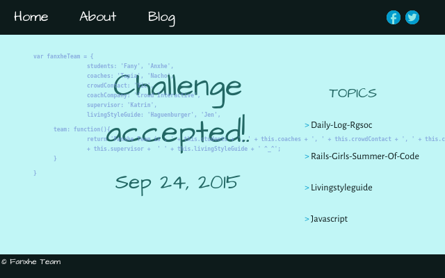 2015 09 24 challenge accepted