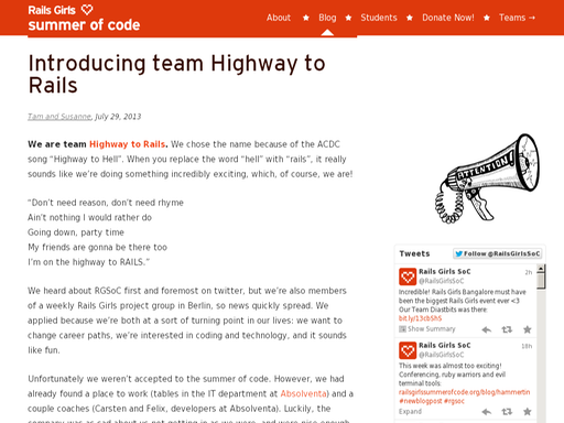 Introducing highway to rails
