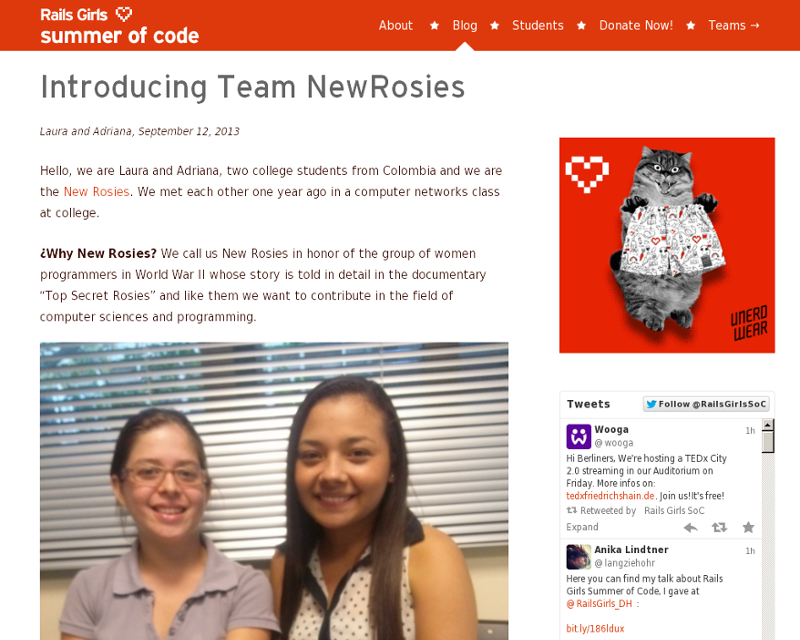 Introducing team newrosies