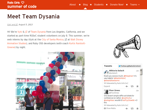 Meet team dysania