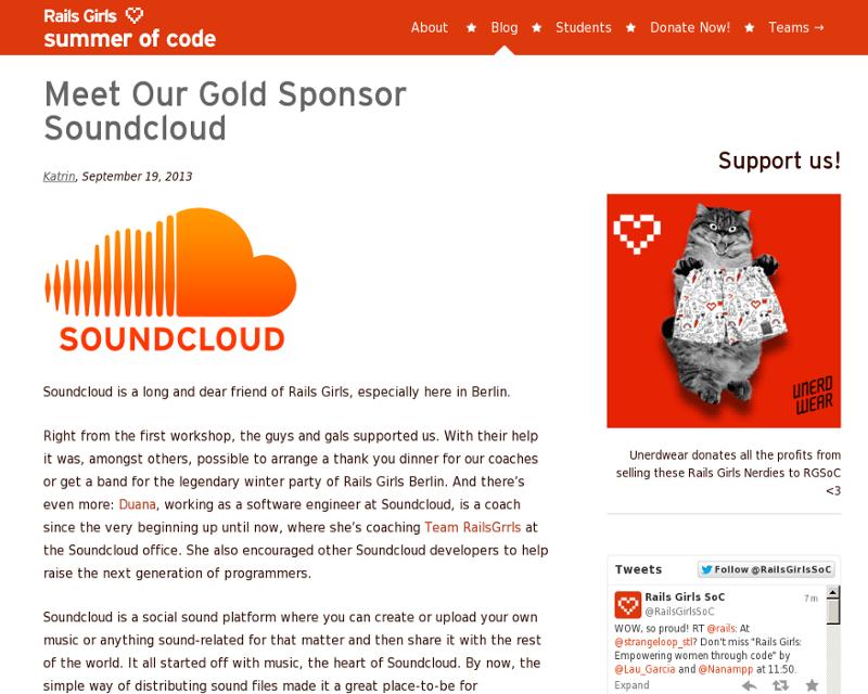 Soundcloud gold sponsor