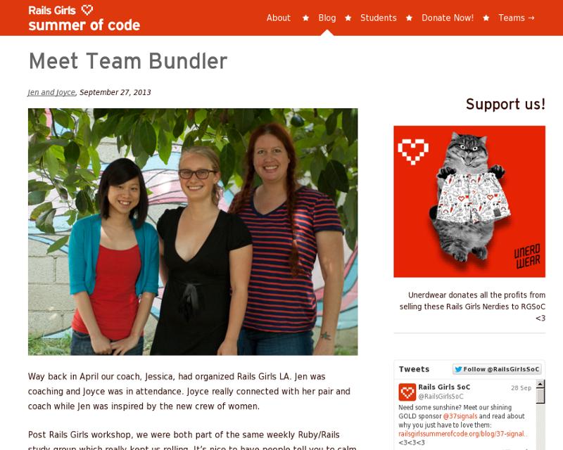 Team bundler